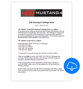 Download H2R Challenge Mustang Specs